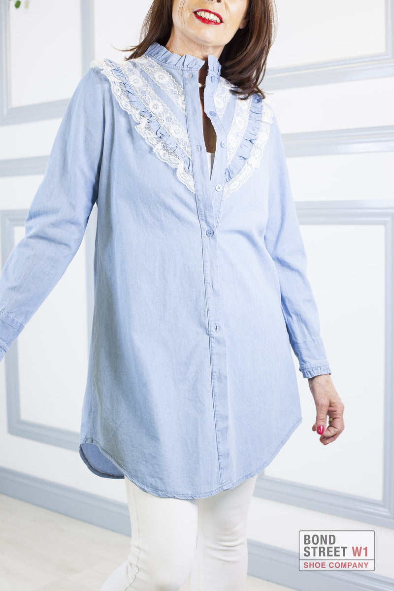 Mia Shirt Blue