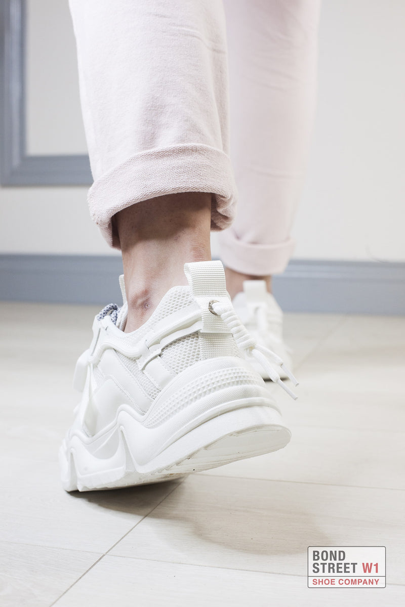 White Chunky Trainer