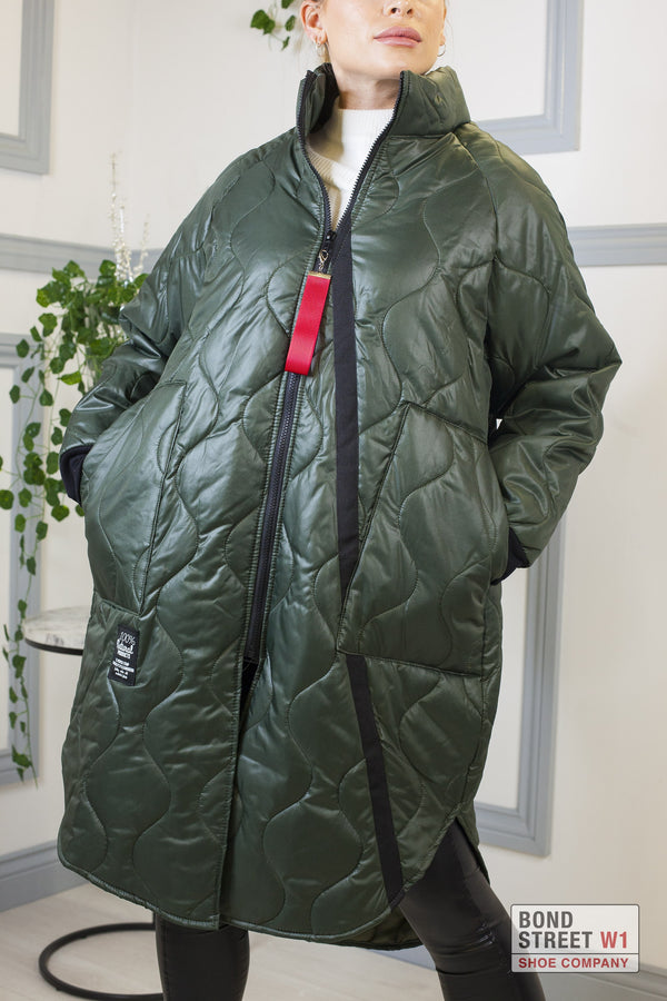 Forest Long Puffer Jacket