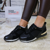 Black Mesh Trainers