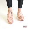 Pink camo trainers JLL-851