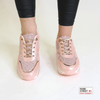 Pink Trainer with rose gold details JLL-853-Pink