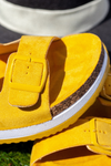 Yellow Double Strap Sandal