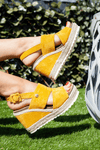 Yellow Rope Wedge