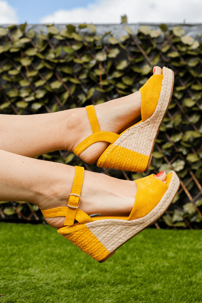 Yellow Small Rope Wedge