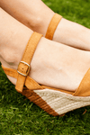 Tan Small Rope Wedge