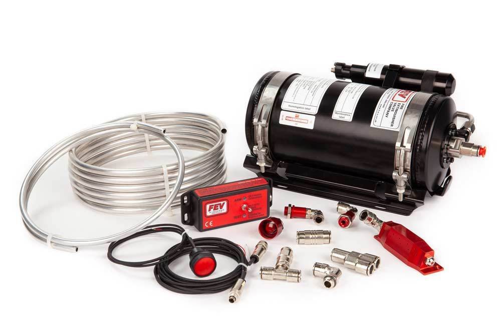 FEV PHYSICAL FEV N-TEC3550R ADS Fire Extinguisher Kit - FIA Approved