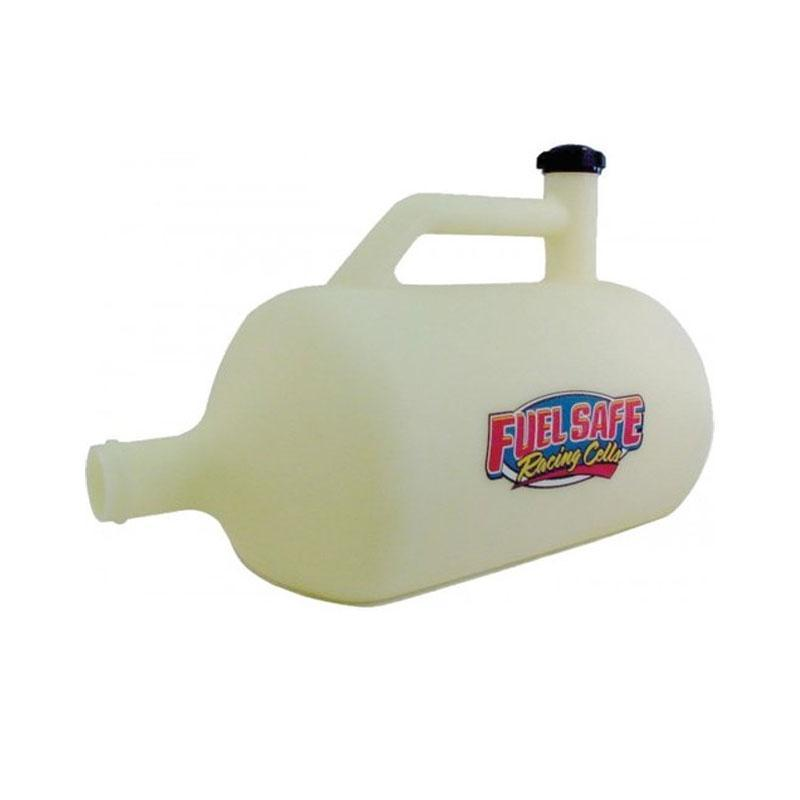 FUEL SAFE PHYSICAL Fuel Safe - Plastic Churn / Vent Bottle 20L - WHITE
