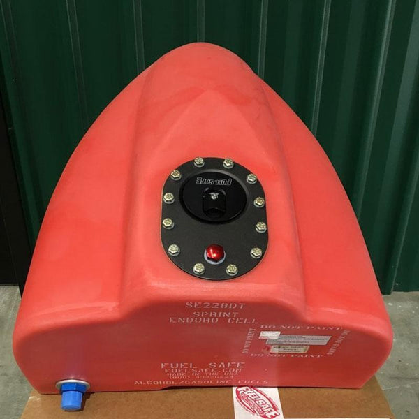 FUEL SAFE PHYSICAL Fuel Safe SE228DT (red) - Sprint enduro racing fuel cell