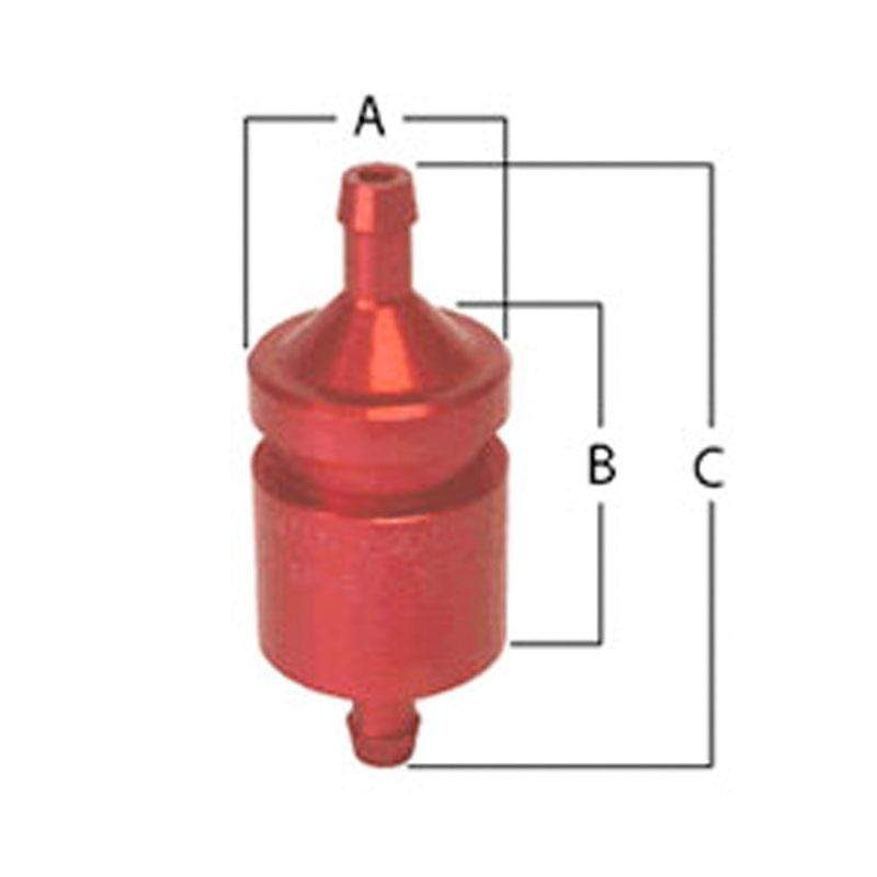 FUEL SAFE PHYSICAL INLINE TANK VENT VALVE - MODEL TPV8