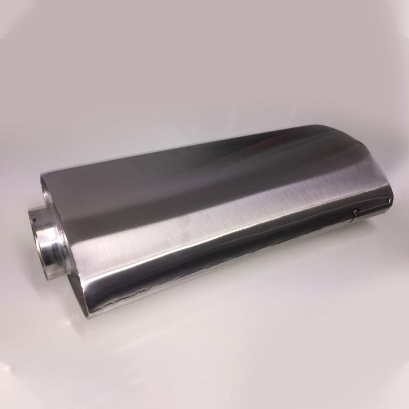 G1Race PHYSICAL G1 Race Low Profile Stainless Race Muffler