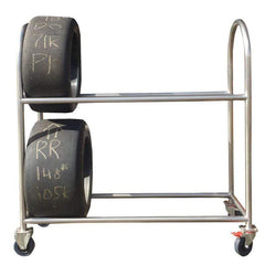 G1Race PHYSICAL Stainless Steel Tyre trolley by Garage1