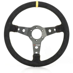 GP RACE PHYSICAL GP-Race Wheel S2000 350mm -65mm dish Blk/Suede