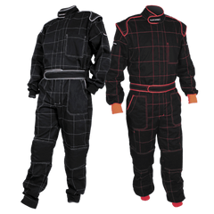 TURNONE PHYSICAL Turn1 Mechanic Overalls Black / Orange