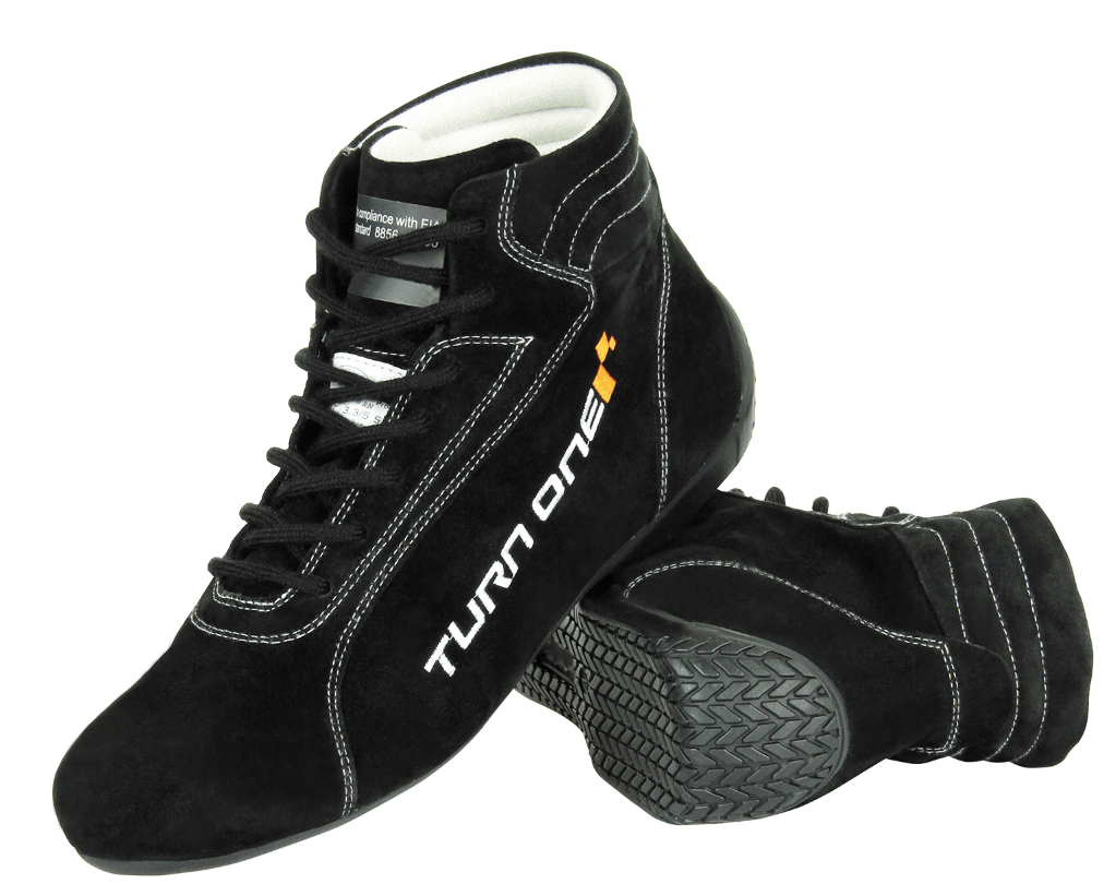 TURNONE PHYSICAL Turn1 Race Boots Black