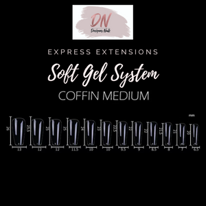 DN Express SOFT GEL extension full kit