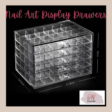 Load image into Gallery viewer, 120 piece nail art storage drawers
