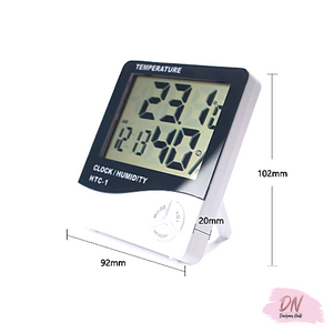 Hygrometer, time, temp,humidity reader