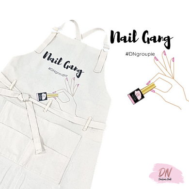 Designer Nails Apron