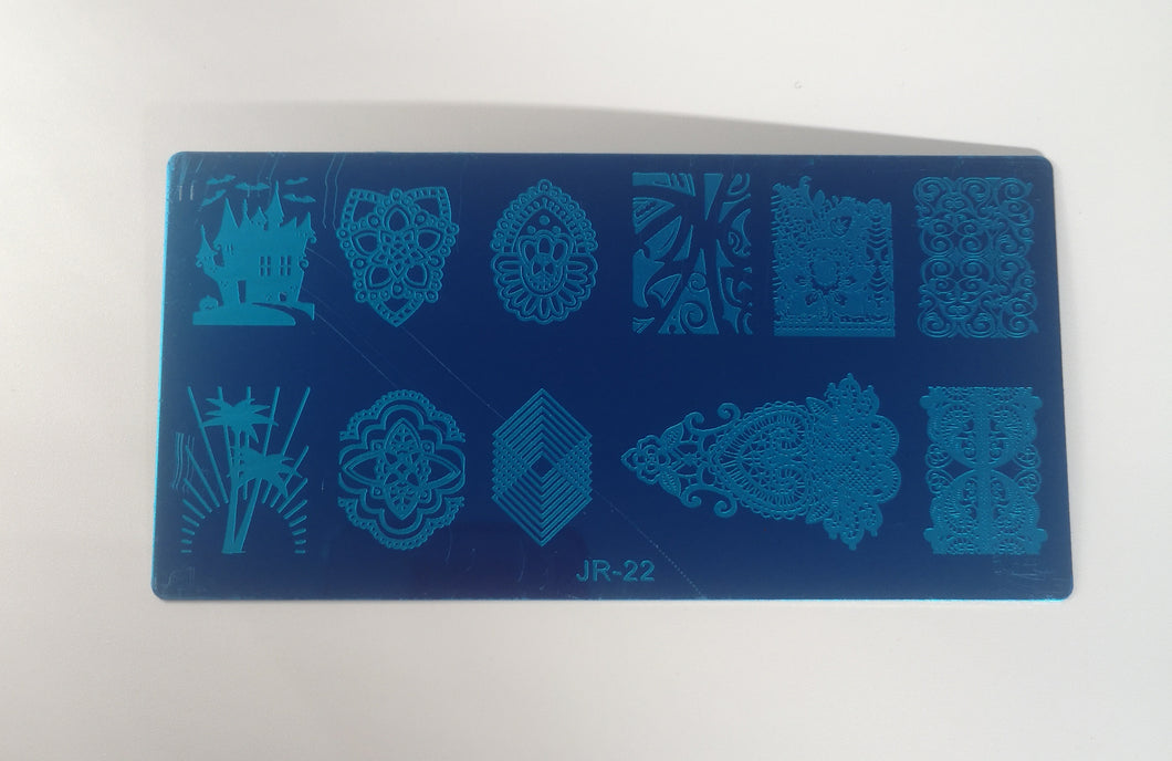 stamping plate 22