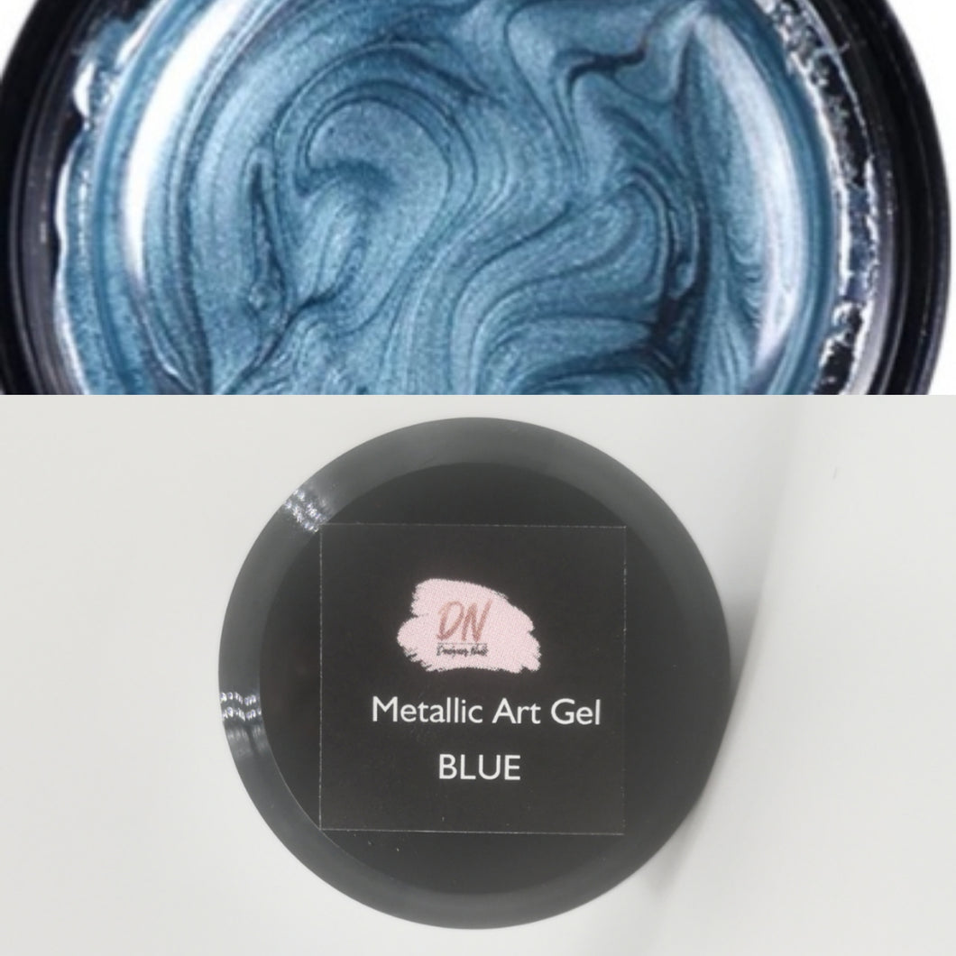 DN metallic Art Gel BLUE
