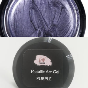 DN metallic Art Gel PURPLE