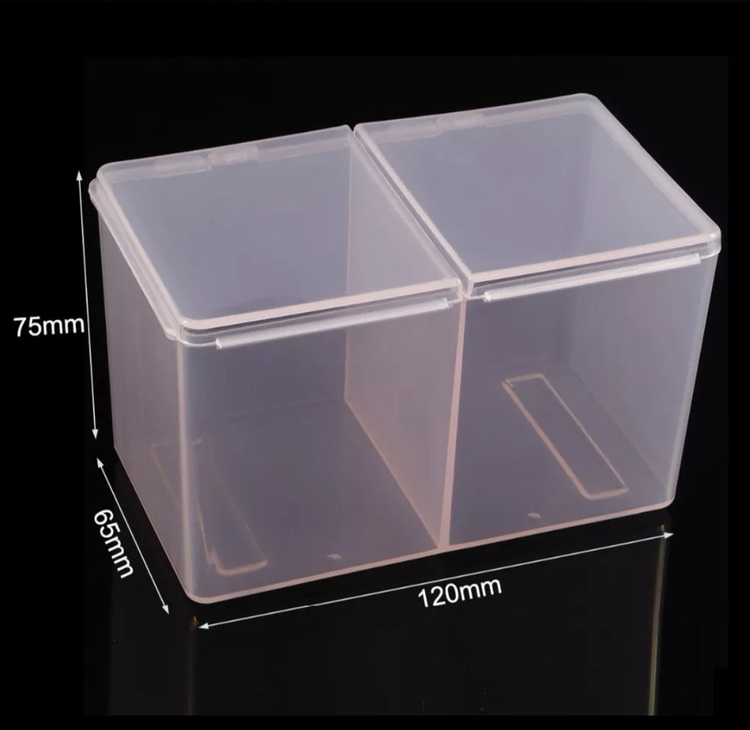 Plastic wipe/storage container PINK