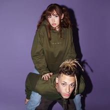 Load image into Gallery viewer, Women Cum First Olive Unisex Hoodie