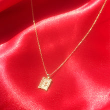 Load image into Gallery viewer, Gold Plated Sterling Silver Rose Necklace