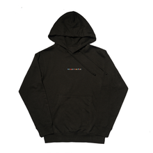 Load image into Gallery viewer, Black Hoodie with Women Cum First Embroidery