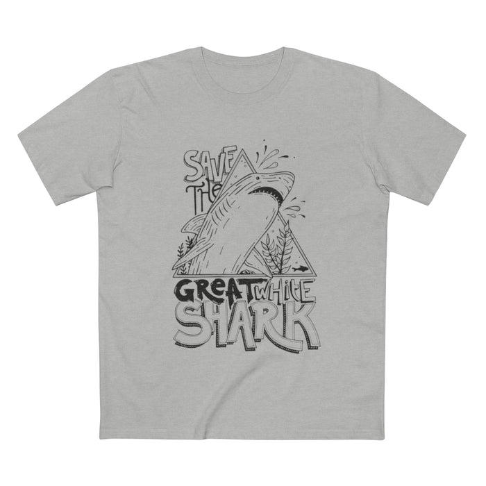 Save The Great White Shark - Unisex Tee