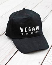 Load image into Gallery viewer, Vegan For The Animals - Cotton Cap