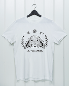 A Curious Being - Not A Test Subject - Unisex Shirt