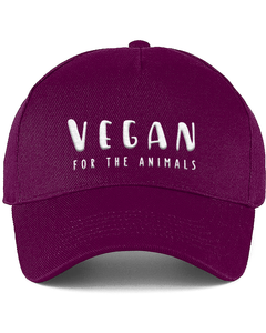Vegan For The Animals - Cotton Cap