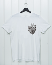 Load image into Gallery viewer, Coral Heart Chest Print - Unisex Shirt