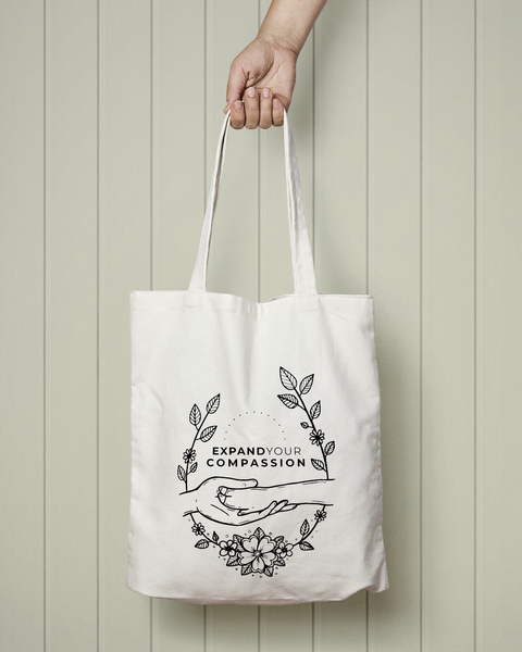 Expand Your Compassion - Totebag