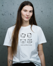 Load image into Gallery viewer, Love All Eat None - Unisex Shirt