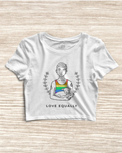 Load image into Gallery viewer, Love Equally - Pride Crop Top