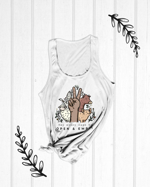 May every cage be open - Slim Tank Top