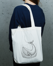 Load image into Gallery viewer, Whale In Bag - Totebag