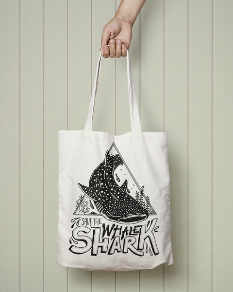 Save the Whale sharks - Totebag