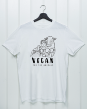 Load image into Gallery viewer, Vegan For The Animals - Unisex Shirt