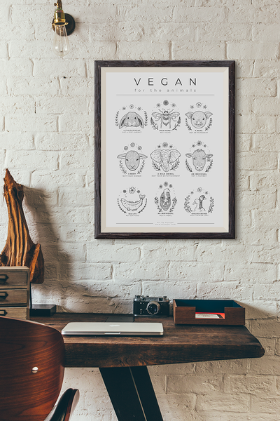 Animal Liberation Series Poster - Limited edition