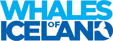 The logo of Whales of Iceland