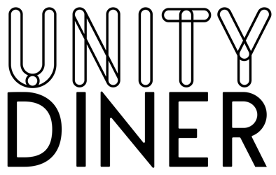 The logo of Unity Diner
