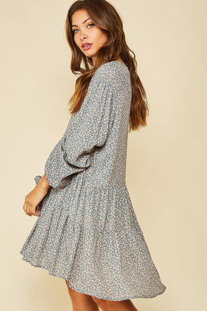 Effortless Elegance Floral Dress