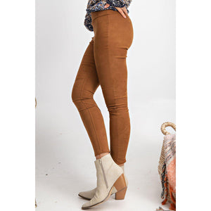 Have Mercy On Me Suede Knit Leggings