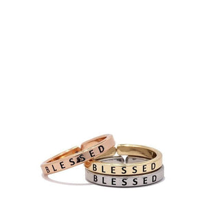Blessed Ring Set-Ring-Composed Rose
