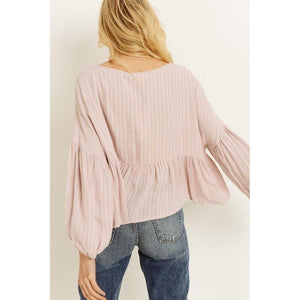 Boho Beauty Blouse-Tops-Composed Rose
