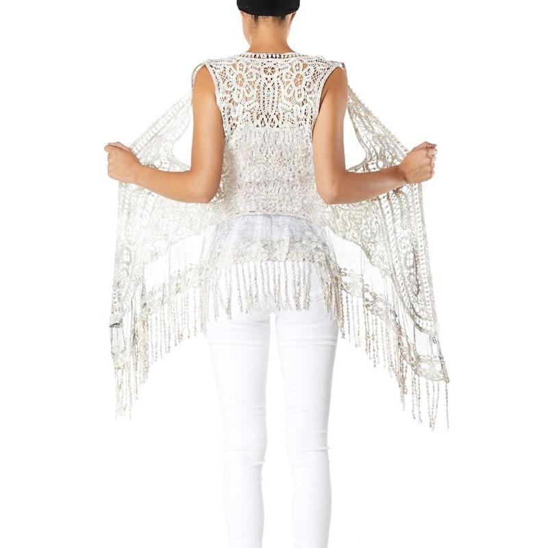 Falling For You Fringe Vest-Vest-Composed Rose